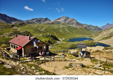 Refuge on the Nivolet pass,  in the Gran Paradiso National park - Italy