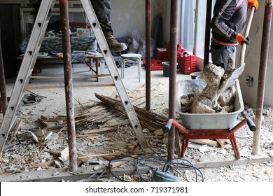 Renovierung eines alten Gebäudes