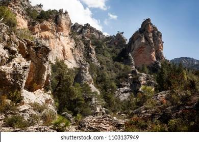 Regatxol Gorges. Beceite. Spain