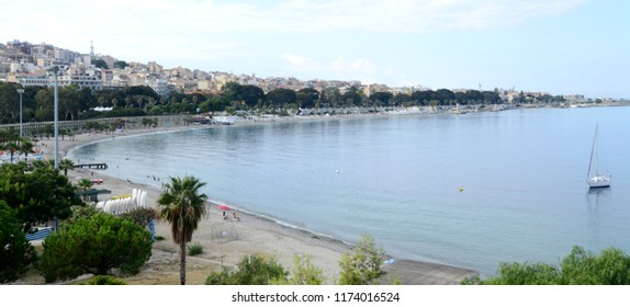 Reggio Calabria is a coastal city of Calabria, separated from Sicily by the Strait of Messina. The National Archaeological Museum houses the Riace Bronzes, a pair of ancient life-size Greek statues.