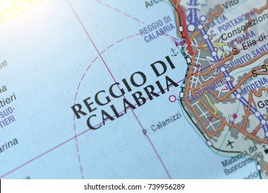 Reggio Di Calabria. The island of Sicily, Italy.