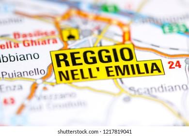 Royalty Free Map Of Reggio Emilia Images Stock Photos Vectors