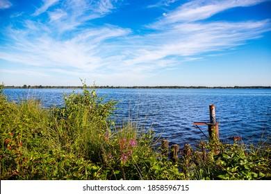 The region Ewiges Meer near the city Aurich in eastfrisia. - Shutterstock ID 1858596715