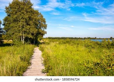 The region Ewiges Meer near the city Aurich in eastfrisia. - Shutterstock ID 1858596724