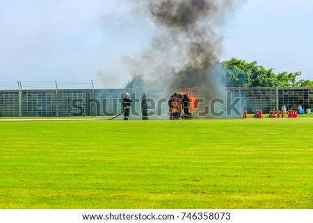 Regional firefighting exercise in