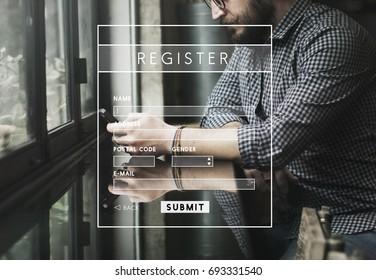 Register Username Account Summit Banner