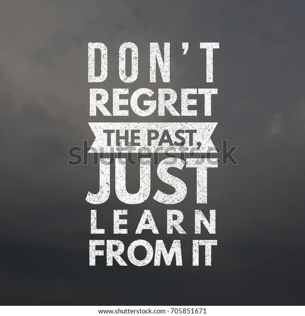 Photo De Stock De Ne Regrettez Pas Le Apprenezen Simplement