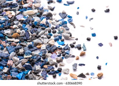 regrind of milled plastic goods for recycling industry