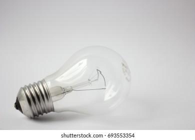 A regular light bulb, lightbulb