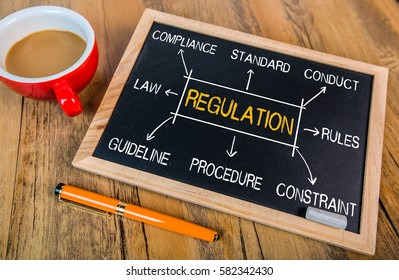 regulation concept flowchart