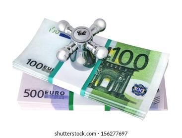 Regulation imaginary money / The valve on the money