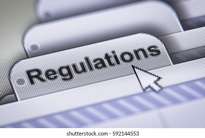"""""""Regulations"""" on the File."""