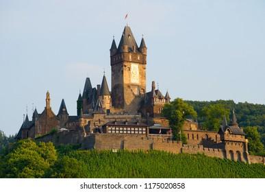 Reichsburg Cochem. Historic european castle - Cochem, Germany.