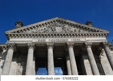 The Reichstag building in Berlin, Germany: After its reconstruction led by architect Norman Foster in 1999, it once again became the meeting place of the German parliament: the modern Bundestag