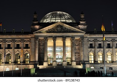 Reichstag - a building of parliament of Germany, Berlin - Germany