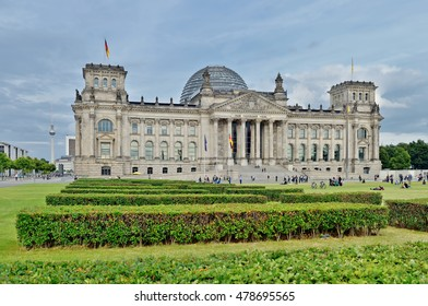 Reichstag Building -Stitched Panorama