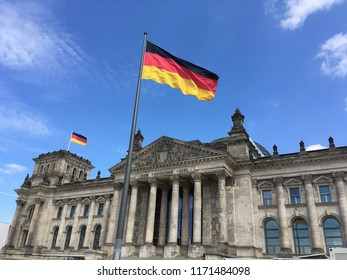 Reichstag Palace Berlin, BE/Germany - 06/18/2018