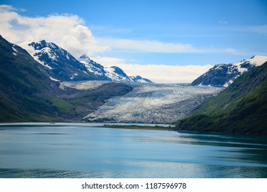 Reid Glacier in Glacier Bay National Park