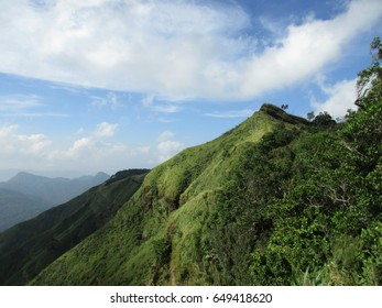 Reiek Peak vissible from Mizoram University