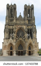 Reims, Cathedral of Notre-Dame, Champagne, France