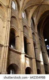 Reims, France - july 26 2016 : the Saint Remi basilica