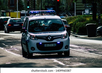 French Police Cars Images Stock Photos Vectors Shutterstock