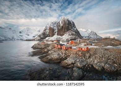 Reine, Lototen Islands, Norway