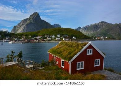 Reine Rorbuer at Lofoten Islands, Norway