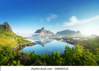 Reine Village, Lofoten Islands, Norway