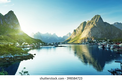 Reine Village, Lofoten Islands, Norway