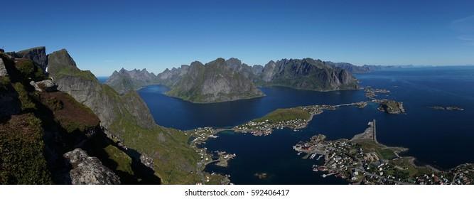 Reinebringen - Lofoten Islands in Norway