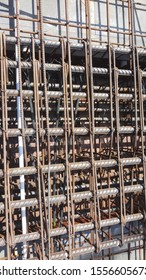 Reinforcement beam with corroded bars