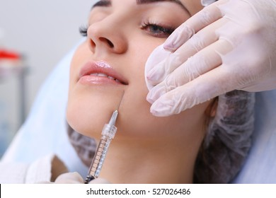 Rejuvenating facial injections.