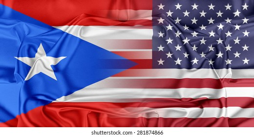 Relations between countries. USA and Puerto Rico