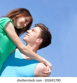 Relations between men and women. Youth.