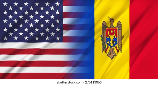 Relations between two countries. USA and Moldova.