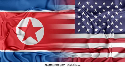 Relations between two countries. USA and Korea North