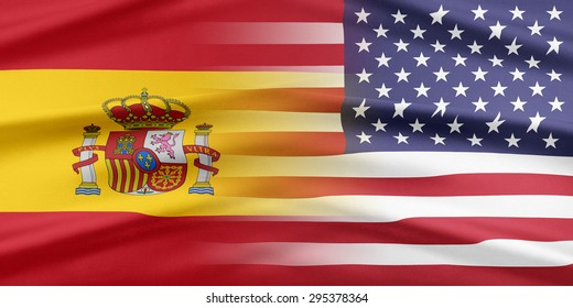 Relations between two countries. USA and Spain.