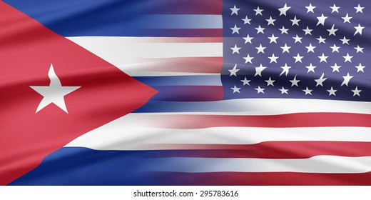 Relations between two countries. USA and Cuba.