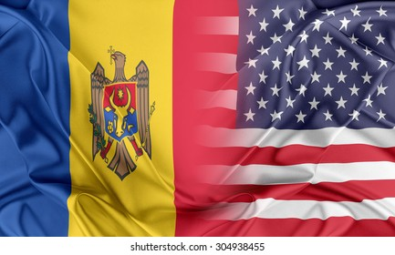 Relations between two countries. USA and Moldova