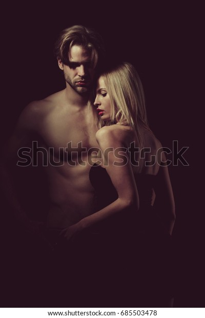 Relations Girl Guy Couple Love Sexy Stock Photo (Edit Now) 685503478