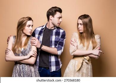 relationship., breakup, jealousy, love triangle, love