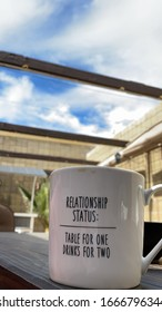Relationship Status Funny Coffee Cup