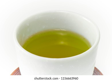 Relax by drinking green tea