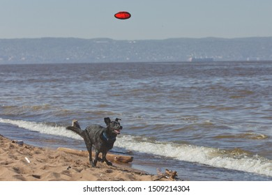 Relax in Duluth Minnesota at Park Point Beach in Canal Park
