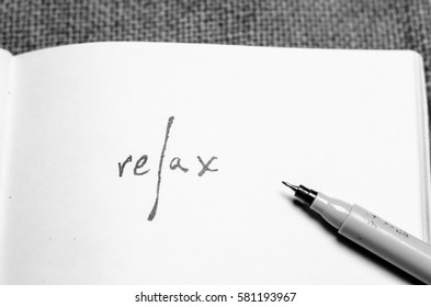 relax inscription