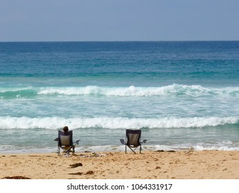 Relaxing by the sea at Mimosa Rocks National Park Gillards Beach