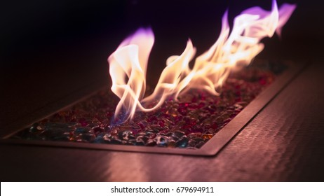 Relaxing Fire Table