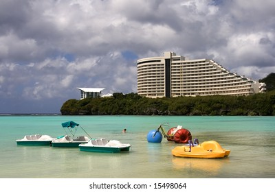 Relaxing in Guam, Marshall Islands