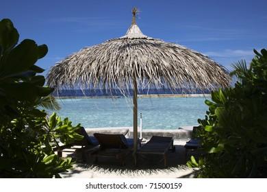 Relaxing holiday at Maldives